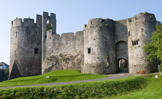 Castle Photography Chepstow Chepstow Castles' Front