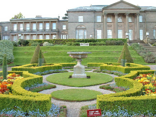 Tatton park mansion for Garden design knutsford