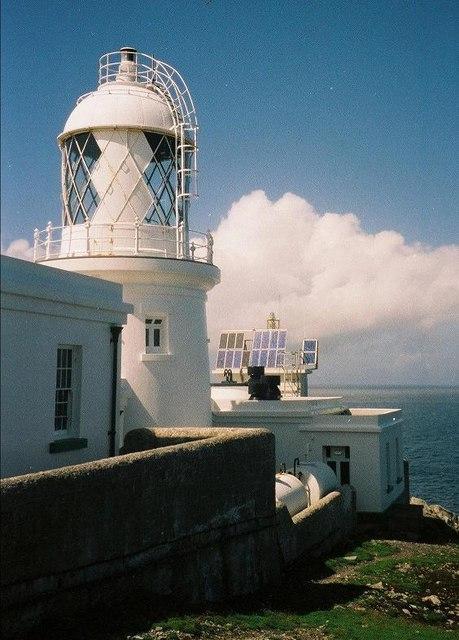 Lighthouse Lundy Island North Lighthouse
