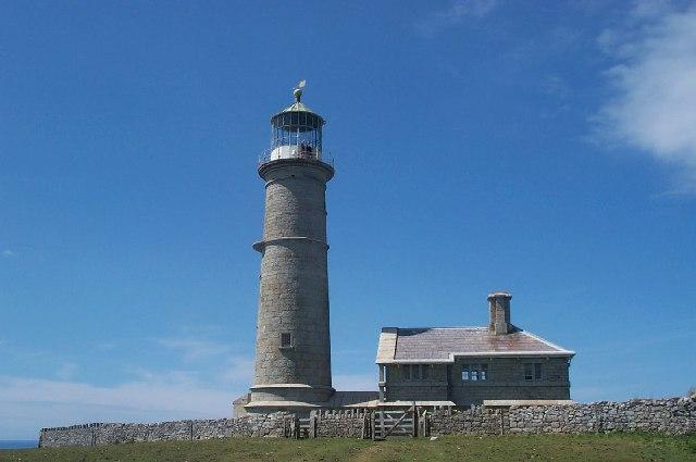 Lighthouse Lundy Island Old Light
