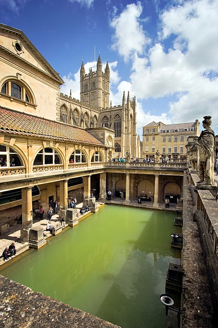 Roman Baths at Bath Somerset