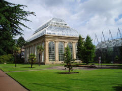 Temperate House at Edinburgh Botanical Gardens
