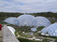 The Domes at the Eden Project, Cornwall