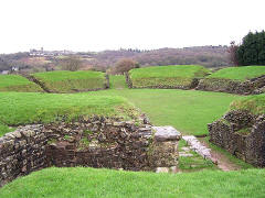 Caerleon Roman Amphitheatre, South Wales