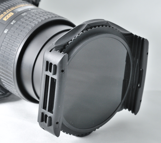 """Cokin Compatible. Kood 82mm Pro /""""P/"""" Size Square Filter Holder /& Adapter Ring"""